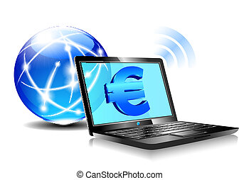 Banking online Pay by internet Euro - Banking, payment...