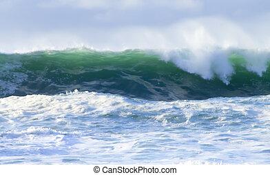 ocean storm 5 - big ocean storm ( Commander Islands )