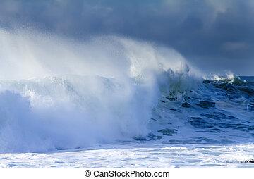 ocean storm 7 - big ocean storm ( Commander Islands )