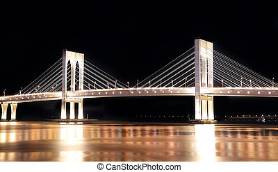 Sai Van bridge in Macau