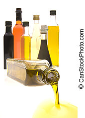 Oil Bottles - Olive oil and Balsamic vinegar bottles...