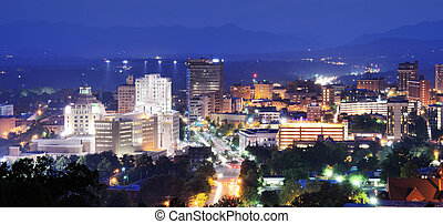 Asheville Skyline - Skyline of Asheville, North carolina