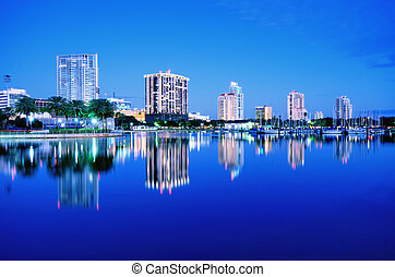 St Petersburg, Florida - Skyline of St Petersburg, Florida