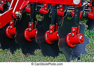 Agricultural equipment. Details 38 - Equipment for...