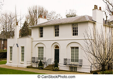Historic Home of Poet John Keats - The romantic poet John...
