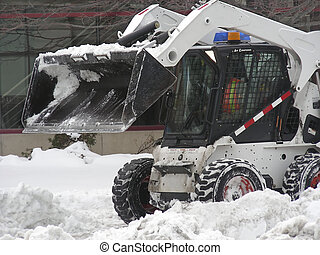 Snow Plow - Where do you suppose they are going to put the...