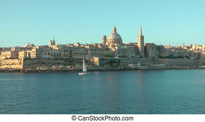 Valletta, the capital city of Malta.