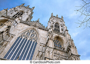 York Minster England - York Minster Castle and Cathedral at...