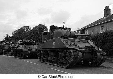 World War 2 Tank - US World War 2 Tank