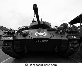 World War 2 Tank - US World War 2 Tank