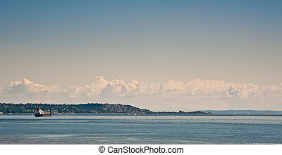 View from Discovery Park