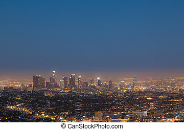 cityview of Los Angeles