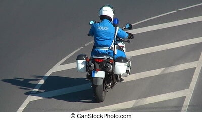 HD 1080 - Police Bike