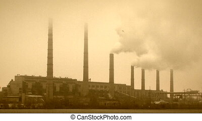 Steaming pipes