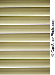 Window with Venetian Blinds that are shut