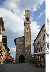 Montalcino - Church of Montalcino, Tuscany, Italy