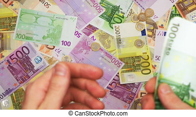 HD - Counting Euro money