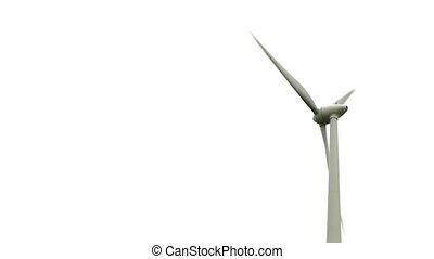 HD - Close-up of a wind turbine
