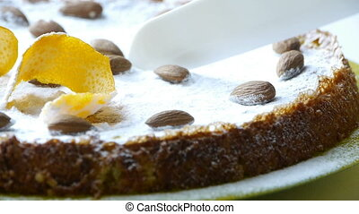 HD - Almond cake from Santiago