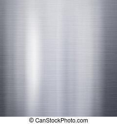 Brushed aluminum metal plate - Brushed metal aluminum...
