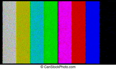 HD 1080i - TV test_Color bars crash