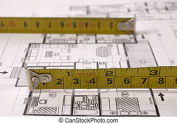 Planning - Architecture project of interiors designe on...