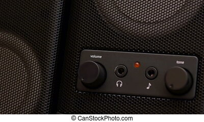 HD - Volume control_close-up