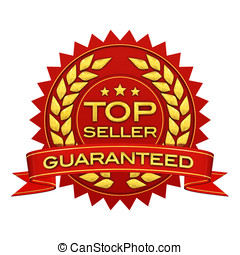 Top seller guaranteed ,red and gold label