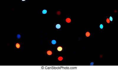 HD - Christmas lights_multi-colored