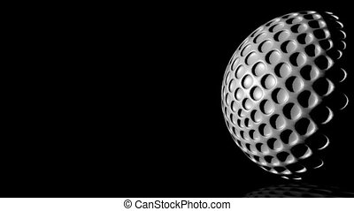 HD - Golf ball background