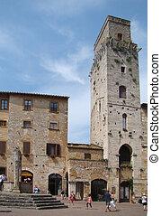 San Gimignano-Tuscany