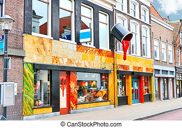 Store of paint and varnish products in Gorinchem,...