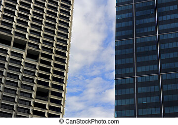 Perth Central Business District - Skyscapers in Perth...