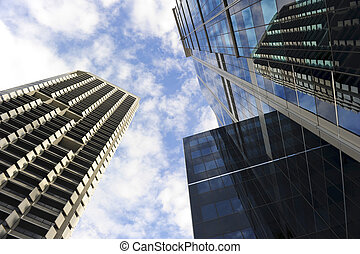 Central Business District - Skyscapers in Perth Central...