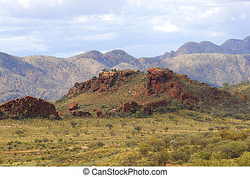 MacDonnell Ranges Australia - Part of the MacDonnell Ranges...