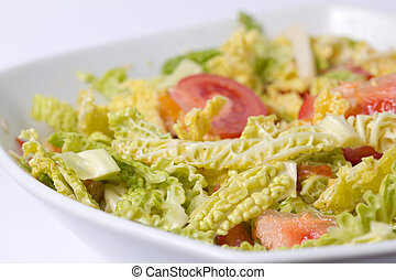 Savoy cabbage salad