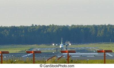 HD - Aircraft take off_Fokker F50