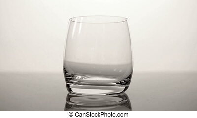 HD - Glass of water_front view