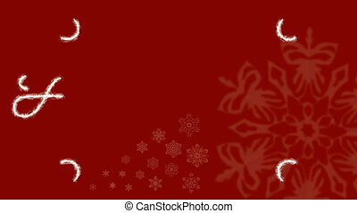 HD - Holidays Frost Ornament Red - HD 1080 - Holidays Frost...