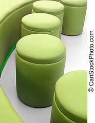 Photo of modern, comfortable, cushy and stylish stools for...