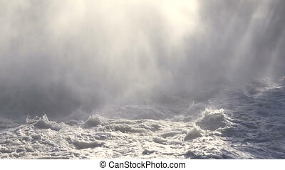 Rough Water and Mist 01