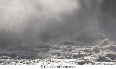 Rough Water and Mist 02