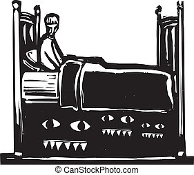 Monsters under bed