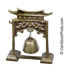 Metal Tori Gate with Bell - Metal Tori Gate with brass bell...