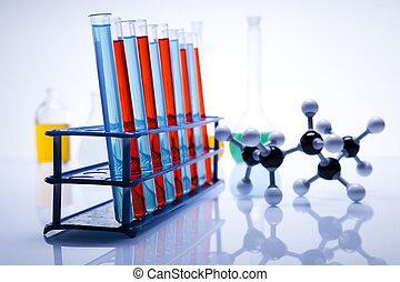 laboratorium, utrustning, forska