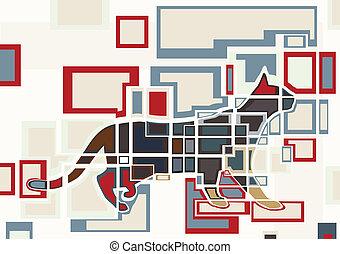 Cat blocks