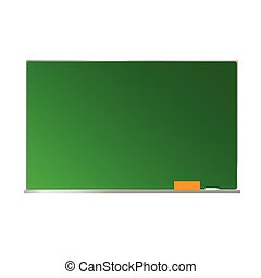 school board green illustration