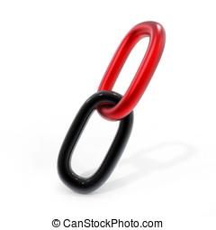 リンク, 鎖, 3D