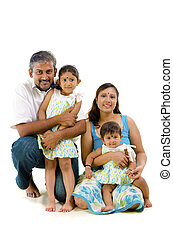 asian indian family