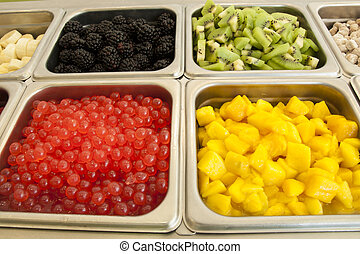 ?Frozen Yogurt Toppings